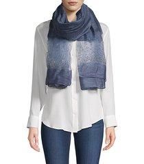 star gazer silk & wool scarf