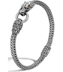 women's john hardy legends naga 5mm station bracelet