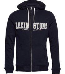michael hood hoodie trui blauw lexington clothing