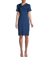 deidra ruched sheath dress