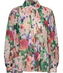 2nd adriana verano thinktwice långärmad skjorta multi/mönstrad 2ndday