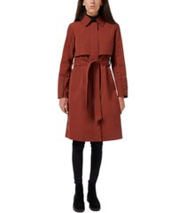 sam edelman hooded belted trench coat