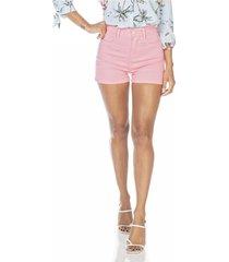 shorts jeans denim zero pin up colorido