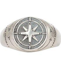 silver napoleon ring s-nap-rng-w