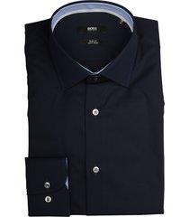 hugo boss overhemd joram donkerblauw sf 50427552/404