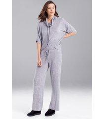 n-trance pants, women's, grey, size xl, n natori