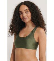 na-kd swimwear bikiniöverdel - green