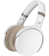 audifonos hd 450 bluetooth over ear noise cancelling  blanco sennheiser