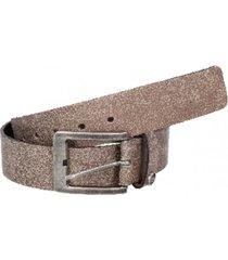cinturón cuero variedad colores beige panama jack