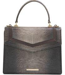 brahmin mini francine leather satchel