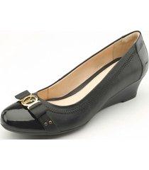zapato mujer agata negro flexi