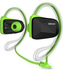 audífonos bluetooth manos libres inalámbricos, bsport audifonos sport marca original inalámbrica auricular de natación impermeable (verde)