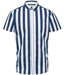 sailor shirt stripes / button