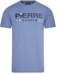 pierre cardin heren t-shirt trendy print -