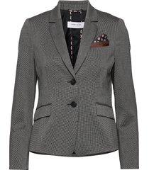 blazer long-sleeve blazer colbert grijs gerry weber