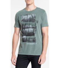 camiseta ckj mc florest - militar - p