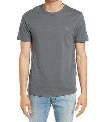 men's allsaints brace tonic slim fit crewneck t-shirt, size xx-large - green