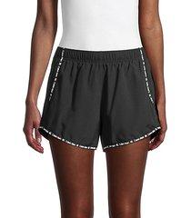 logo binding shorts