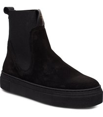 marie chelsea shoes boots ankle boots ankle boots flat heel svart gant