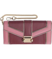 michael kors whitney quilted leather wallet