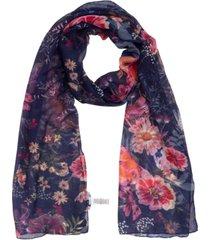 echo 23 floral oblong scarf