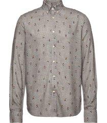 jasper button down shirt overhemd casual grijs morris