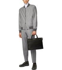 boss men's cadus blouson-style virgin wool bomber jacket