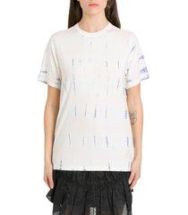 isabel marant étoile dena tye dye short sleevs t-shirt