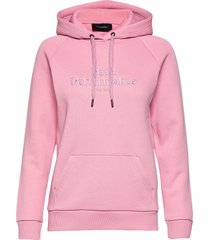 w original hood cold blush hoodie trui roze peak performance