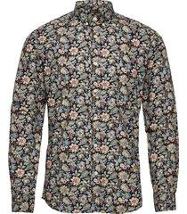 layne button down shirt skjorta casual blå morris