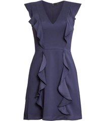 bcbgmaxazria ruffled mini dress