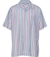 camp shirt overhemd met korte mouwen blauw hope