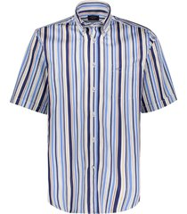 paul&shark lichtblauw km casual shirt