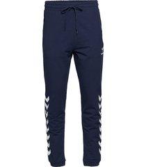hmlray pants sweatpants mjukisbyxor blå hummel
