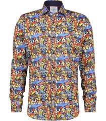 overhemd stretch design multi