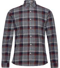 checked flannel shirt l/s skjorta casual multi/mönstrad lindbergh