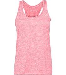 tech tank t-shirts & tops sleeveless rosa under armour