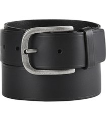 frye and co men's heat-pressed leather belt