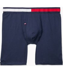 tommy hilfiger men's cool stretch boxer brief dark navy - l