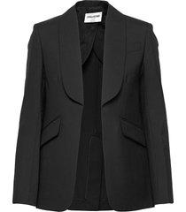 date wool eco jacket blazers over d blazers svart zadig & voltaire