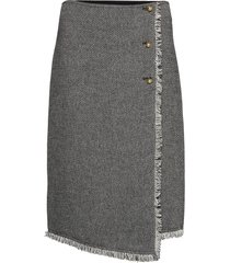 darcia knälång kjol grå by malene birger
