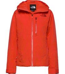 w descendit jkt outerwear sport jackets röd the north face