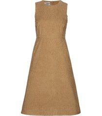 abena jurk knielengte bruin baum und pferdgarten