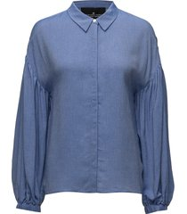 alia shirt blus långärmad blå designers, remix