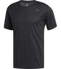 camiseta adidas response masculina cg2190, cor: preto, tamanho: g