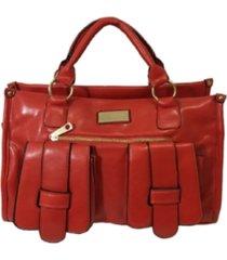 bolsa aphrodite by elizabeth pasta com bolsos vermelho