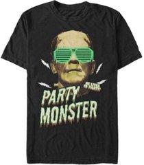 universal monsters men's frankenstein party monster short sleeve t-shirt