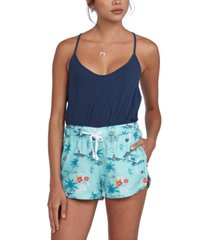 roxy juniors' there you are printed shorts