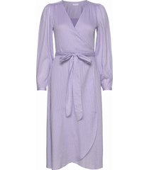 2nd harlow jurk knielengte paars 2ndday