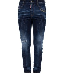skater jean jeans with raw edge